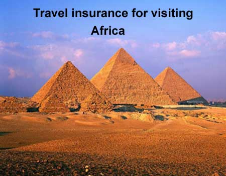 travel insurance for visiting Africa