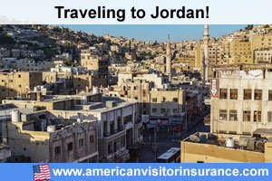 Buy visitor insurance for Jordan