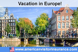 Buy travel insurance for Amsterdam