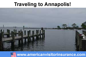 buy visitor insurance for Annapolis