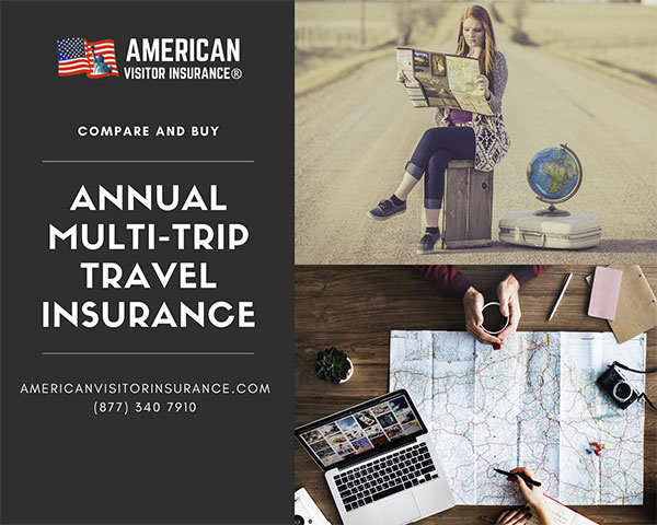 Compare and buy Travel insurance for Annual multitrip