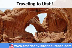 Buy visitor insurance for Utah