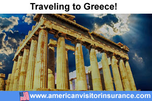 Buy visitor insurance for Greece