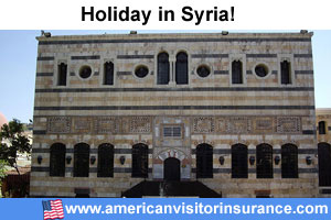 Travel insurance Syria