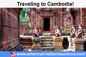Buy visitor insurance for Cambodia