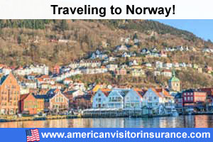 Buy visitor insurance for Norway