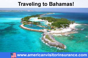 Buy visitor insurance for Bahamas