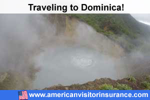 Buy visitor insurance for Dominica