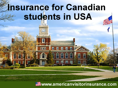 insurance for canadian students in the US