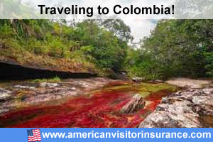 Buy visitor insurance for Colombia