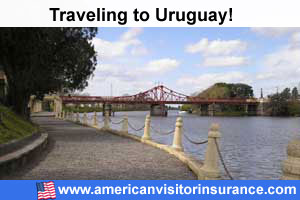 Buy visitor insurance for Uruguay