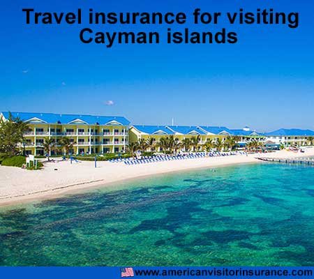 travel insurance for visiting Cayman Islands