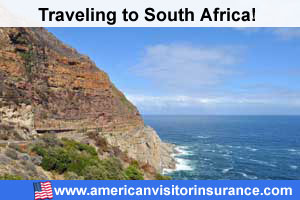 Buy visitor insurance for South Africa