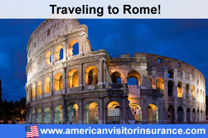 Buy visitor insurance for Rome