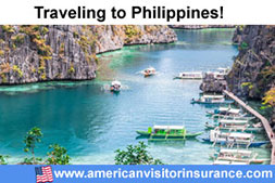 Buy visitor insurance for Philippines