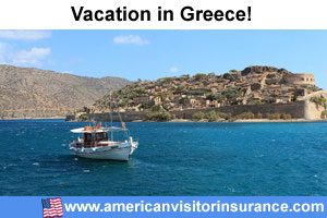 Travel insurance for Grecce