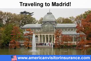 Buy visitor insurance for Madrid