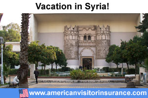 Syria travel insurance