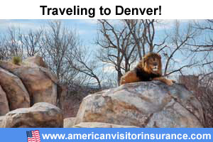 Buy visitor insurance for Denver