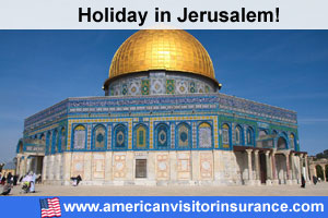 Travel insurance for Jerusalem