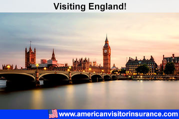 Travel insurance for England