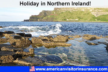 visitor insurance for Northern Ireland