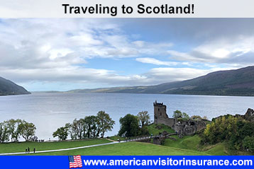 Travel insurance for scotland