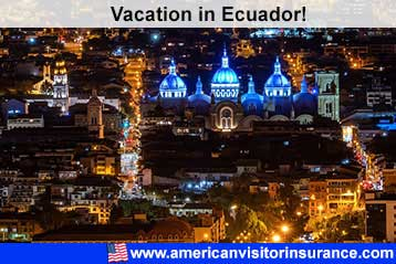 Travel insurance for Ecuador