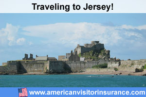 Buy visitor insurance for Jersey