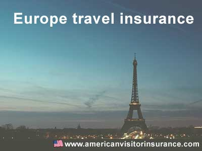 Travel insurance for Europe