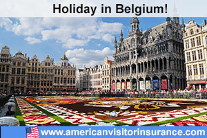 Buy travel insurance for Belgium