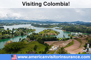 Buy travel insurance for Colombia