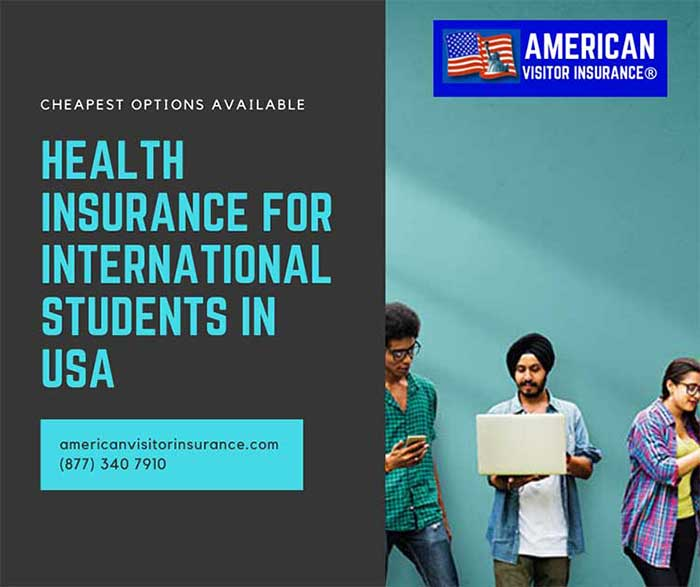 Health insurance for international students in USA