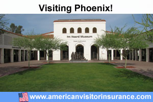 Buy travel insurance for Phoenix