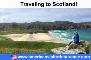 Buy visitor insurance for  Scotland