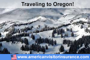 Buy visitor insurance for Oregon