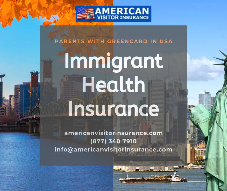 New US immigrant insurance
