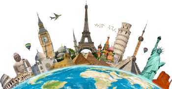 Travel insurance for Popular international  Places