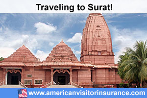 Buy visitor insurance for Surat