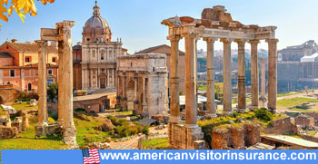 Travel insurance for Italy