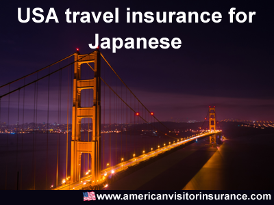 travel insurance for visitors from Japan