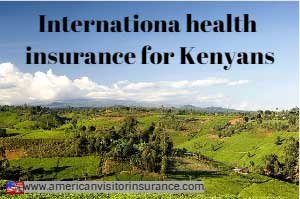 Travel insurance for visiting Kenya