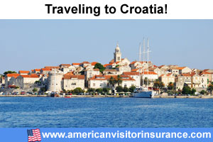 Buy visitor insurance for Croatia