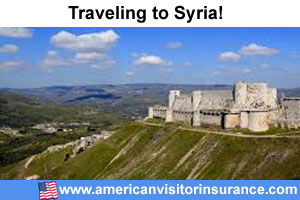 Buy visitor insurance for Syria