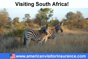buy travel insurance for South Africa