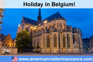 Travel insurance for Belgium