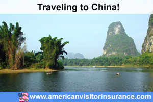 Buy visitor insurance for China