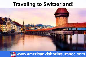 Buy visitor insurance for Switzerland