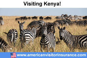 Buy travel insurance for Kenya