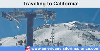 Travel insurance for California